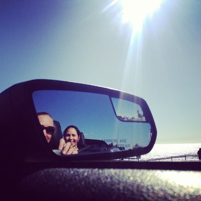 Cruising around San Diego with a few of my NET buddies