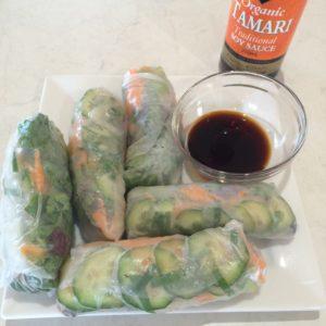 Vegetarian Cold Rolls